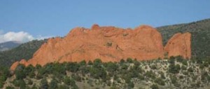 "The sacred Garden of the Gods - ""Sleeping Giant"""