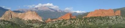 Garden of the Gods mountain range