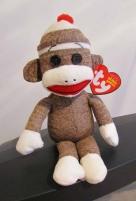 Monkey Mind - sock monkey