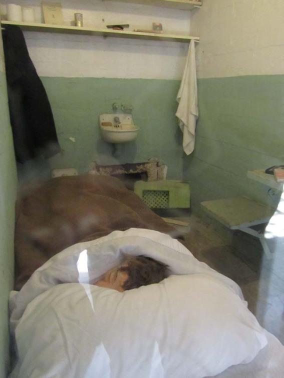 Alcatraz fake head