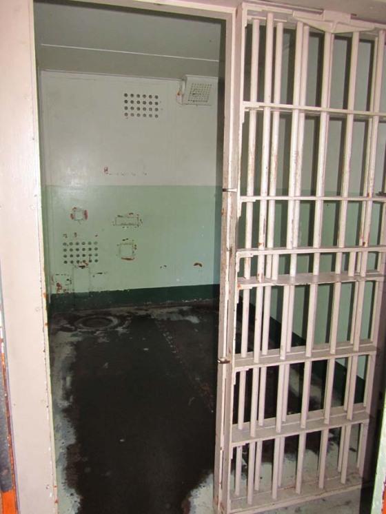 Alcatraz solitary confinement