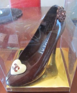 Xoxolat chocolate shoe