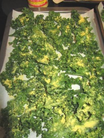 Kale - ready for roasting