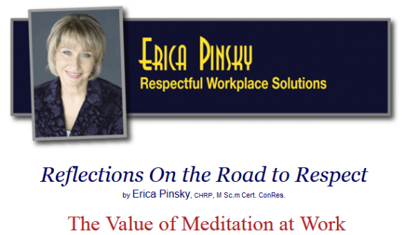 Erica Pinsky's interview with me