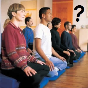 Meditation group in question