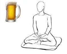 beer or meditation