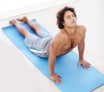 male yoga