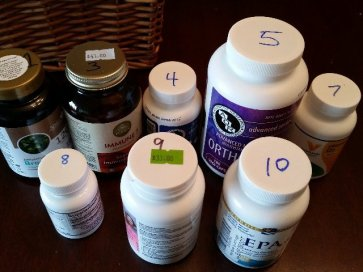 Supplement sorting