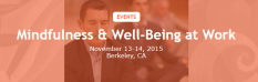 Mindfulness & Well-Being at Work conference