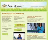The Calm Monkey new wesbsite